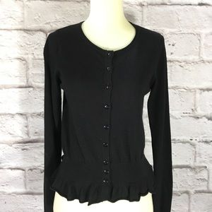 Anthropologie Sparrow size S sweater black
